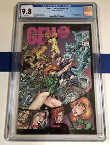 Gen13 Limited series 4 GCG 9.8 GRADED Comic Book