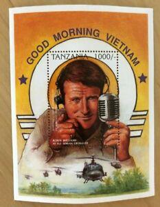 TANZANIA 1996 - FAMOUS PEOPLE -  Robin Williams - Souvenir Sheet - MNH