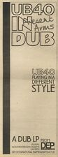 17/10/81PGN20 ADVERT: UB40 IN DUB PRESENT ARMS FROM DEP INTERNATIONAL 15X5