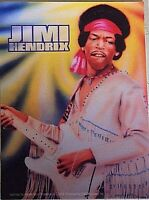 Jimi Hendrix vinyl sticker 130mm x 100mm (cv)