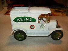 """Ertl #1345 1:25 """"Heinz 57 Varieties"""" 1913 Ford Model T Van Bank MIB"""