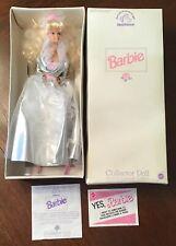 Mattel Barbie Collector Doll Limited Edition 1991 Nib + Coa Applause / Mattel