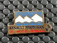 PINS PIN BADGE CAR RENAULT GARAGE PERPIGNAN