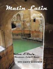 Matin Latin Book 2 Student Edition (Paperback or Softback)