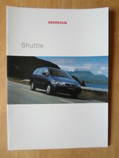 HONDA CIVIC SHUTTLE orig 2000 UK Mkt Sales Brochure with 4WD