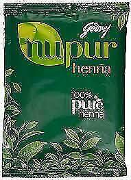 NUPUR HEENA MEHANDI Powder400G  100% NATURAL + FREE GIFT