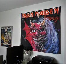 IRON MAIDEN Purgatory HUGE 4X4 BANNER fabric poster tapestry cd album flag