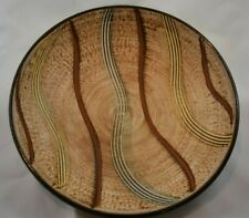 Vintage West Germany Dumler & Breiden Art Pottery Bowl Plaque Mid Century