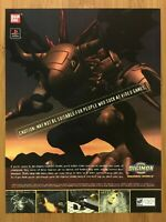 Digimon World PS1 Playstation 1 2000 Vintage Print Ad/Poster Official Promo Art