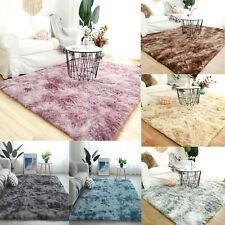 Modern Shaggy Rug Fluffy Soft Dazzle Sparkle Area Rug Carpet Living Room Bedroom