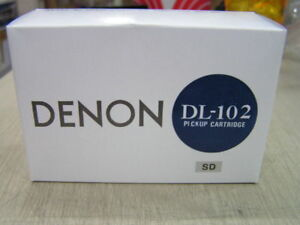 Denon DL-102SD 78 Mono High Output MC Cartridge, Made in Japan