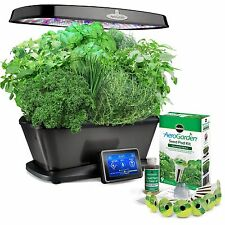 Miracle-Gro AeroGarden Bounty Elite with Gourmet Herb Seed Pod Kit Platinum