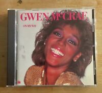 Gwen McCrae - On My Way CD - Mint Condition - Japan OBI - Remaster - OOP Rare