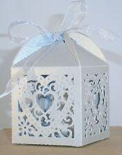 Geschenkbox Geldgeschenk Gastgeschenk silber Herz Geburtstag Hochzeit Weihnacht