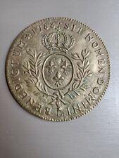 Bronze French Coin Sit Nomen Domini Benedictum 1788 Vintage Bronze Coin Medal