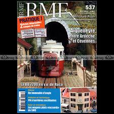 RMF N°537 141-R BB 7200 NEZ CASSE ROCO AIGUNEYRE VOITURE CIWL 2010 ★COMPLET★