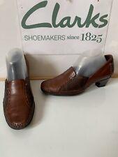 Clarks Heels Leather Shoes Size UK 5.5 EU 39