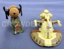 "star wars ep1 micro sammlung 2"" trade federation tank & fambaa mit gungans gear"