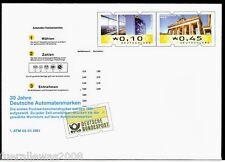 Deutschland Ganzsache 30 Jahre Deutsche ATM Portogerechter Versand + Tagesstemp.