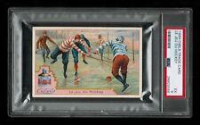 PSA 5 CIBILS HOCKEY CARD Victorian Advertising Tradecard HIGHEST EVER GRADED