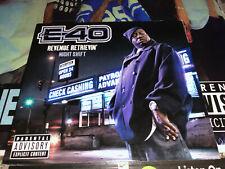 CD: E-40 - Revenue Retrievin' Night Shift (2010)Rare Vallejo CA Rap G-Funk