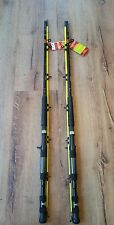 Lot of 2 Zebco Quantum Hawg Seeker 7' MH Casting Fishing Rod Catfish Bass