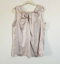 Violet & Claire Printed Sleeveless Top Size Large