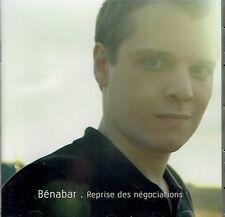 CD - BENABAR - Reprise des negociations