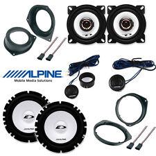Kit 6 casse per FIAT GRANDE PUNTO Alpine con adattatori e supporti