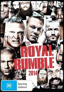 WWE - Royal Rumble 2014 - New & Sealed Region 4 DVD - FREE POST.