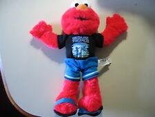 "12"" plush Elmo doll w/shirt "" Sesame Tropics "" good condition"