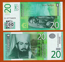 Serbia 20 Dinar 2006 Replacement Pick-47r UNC