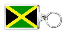 JAMAICA FLAG KEYRING SOUVENIR NEW LLAVERO