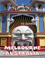 Australia - Melbourne - LUNA PARK - Travel Souvenir Flexible Fridge Magnet