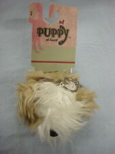 NWT  Womens Puppy At Heart Keychain Change Purse Mi Ki Dog #1