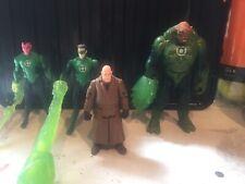 New listing 4x Green Lantern Dc Action Figures 3.75 Kilawog Sinestro