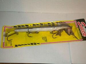 """Weighted 9w Suick Thriller Musky- Pike Twitch Bait Fishing Lure -NIP-2-1/4 oz 9"""""""