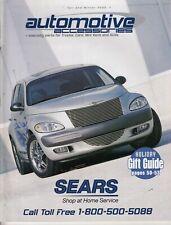 2000 Sears Catalog of Automotive Accessories For Trucks, Cars, Vans & SUVs