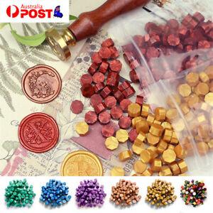 120pcs Colourful Sealing Wax Beads Seal Sign Stamp Melt Envelope Card Wedding