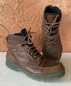 Ecco Mens Gore-Tex Genuine Track Ankle Boots Size 43 US 10