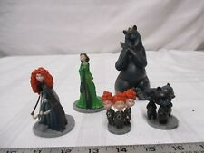 Disney/Pixar Brave figures Marida, Queen Elinor, triplets Hamish Hubert & Harris