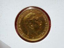 Preußen 20 Gold Mark // 1905 J // Hamburg geprägt selten gesucht
