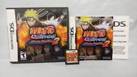 Naruto Shippuden: Ninja Destiny 2 -  Nintendo DS DS Lite 3DS 2DS Game Complete