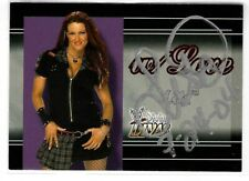 Lita Signed 2003 Fleer WWE Divine Divas With Love Card #1