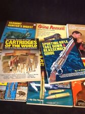Vintage Hunting Shooting Book Lot Varminter Cartridges Guns Annual Nra