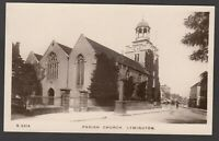 Postcard Lymington New Forest Hampshire early Parish Church RP by WHS Kingsway