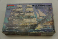 "MONOGRAM 1:196 Model Ship USS Constitution Old Ironsides 16"" COMPLETE"