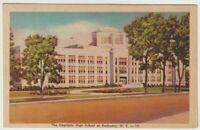 Unused Postcard The Charlotte High School at Rochester New York NY