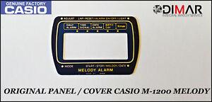 Vintage Casio Original Panneau / Housse Pour Casio M-1200 Melody