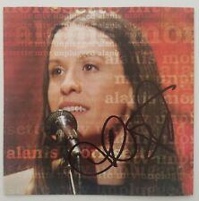Alanis Morissette Signed Mtv Unplugged Cd Booklet Musical Cambridge Art Jlp